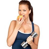 Правильное питание во время занятий фитнесом