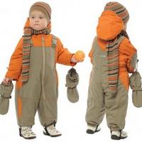 Зимняя одежда ребёнка