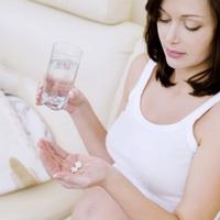 Принятие таблеток во время беременности