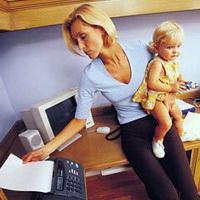 Как вести себя работающей мамочке