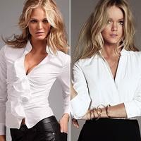 Белые блузки 2013
