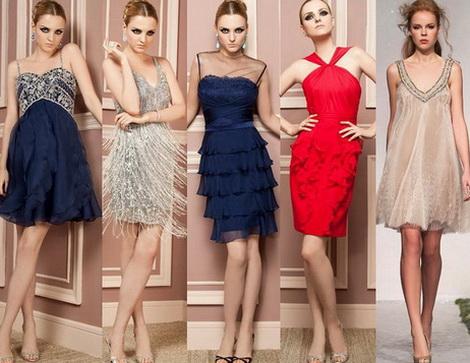 Укороченные выпускные платья