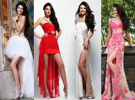 Выпускные платья вечернего типа 2013