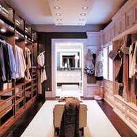 Какой должна быть гардеробная комната