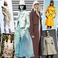 Модные плащи - осень 2013