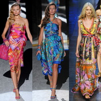 Самые модные пляжные платья  2013