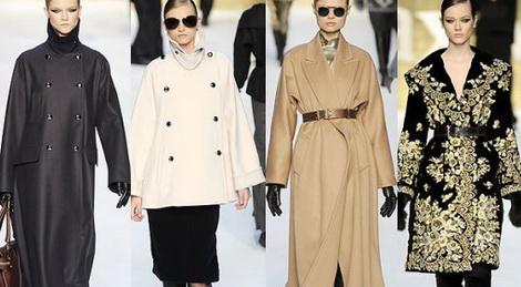 Отличительные черты модных пальто от Max Mara