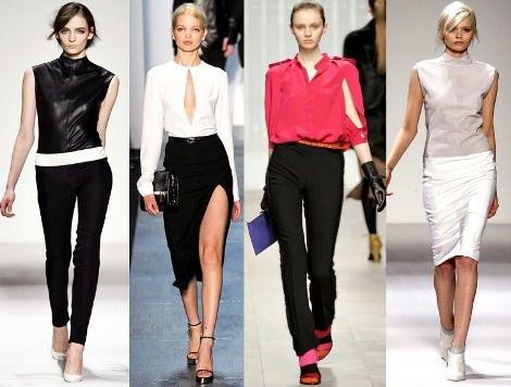 Модные варианты блузок
