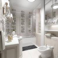 Современные дизайны ванной комнаты