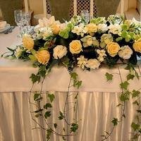 Готовимся к свадьбе – украшение зала цветами